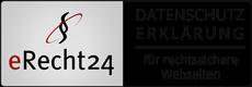 Logo Datenschutz eRecht24